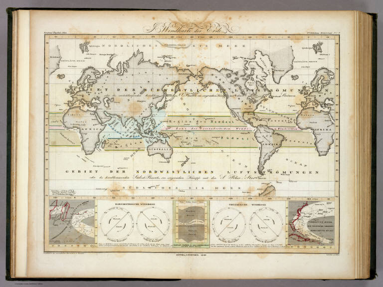 world map 1700. FIG: World map showing the